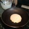 Frying a pancake